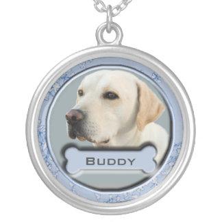 Collar conmemorativo del encanto del mascota para