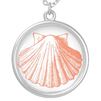 Collar coralino del Seashell