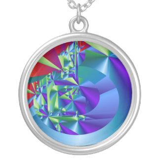 Collar cristalino púrpura de Design>