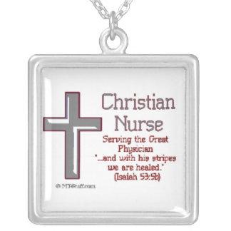 Collar cristiano de la enfermera