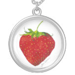 Collar curativo del amor de la fresa