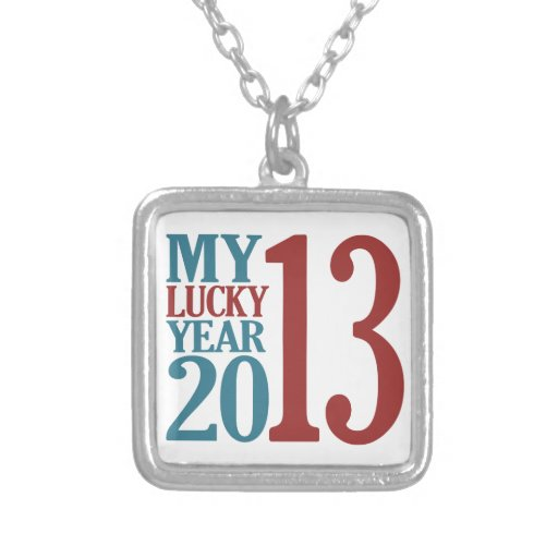 collar de 2013 personalizados