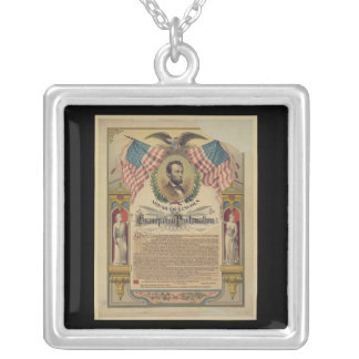 Collar de Abe Lincoln de la proclamación de la