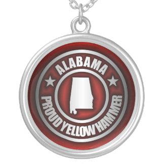 """Collar de acero de """"Alabama"""" (rojo)"""