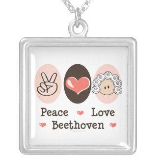 Collar de Beethoven del amor de la paz