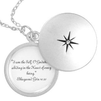 Collar de Bhagavad Gita 10,20