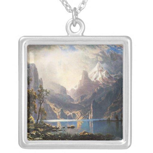 Collar de Bierstadt el lago Tahoe