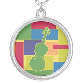 Collar de Colorblocks del violín