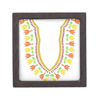 Collar de Dashiki Boubou del africano - caliéntese Caja De Joyas De Calidad