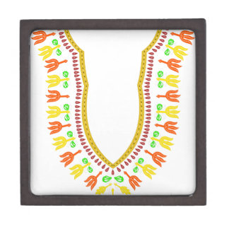 Collar de Dashiki Boubou del africano - caliéntese Cajas De Regalo De Calidad