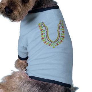 Collar de Dashiki Boubou del africano - caliéntese Camiseta Con Mangas Para Perro