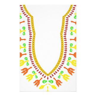 Collar de Dashiki Boubou del africano - caliéntese Papelería