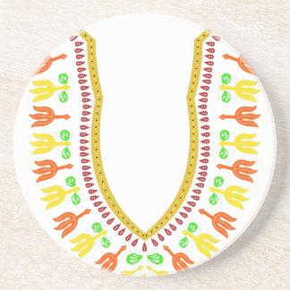 Collar de Dashiki Boubou del africano - caliéntese Posavasos Diseño