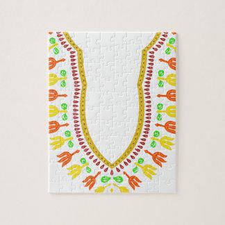 Collar de Dashiki Boubou del africano - caliéntese Puzzle