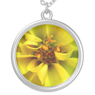 Collar de encargo de la flor de oro/Gelbe Blume Ke