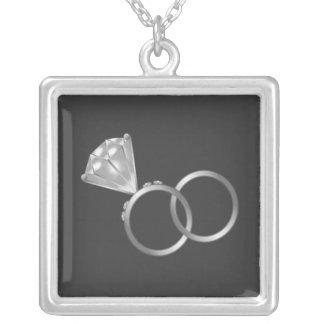 Collar de encargo del anillo de bodas