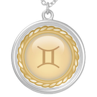 Collar de encargo del zodiaco del oro