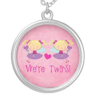 Collar de hadas de los chicas gemelos para los niñ