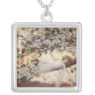 Collar de hadas del arte del vintage, 'Ariel