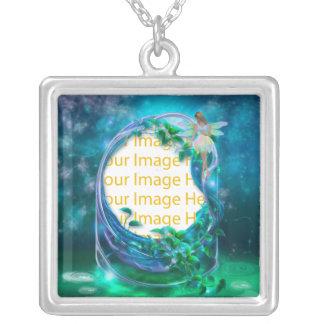 Collar de hadas del marco de la foto de la fantasí