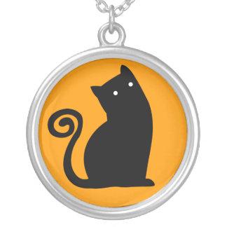 Collar de Halloween del gato negro