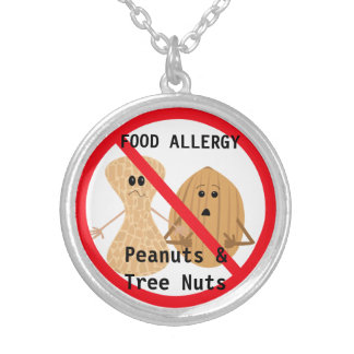 Collar de la alergia del cacahuete y de la nuez de