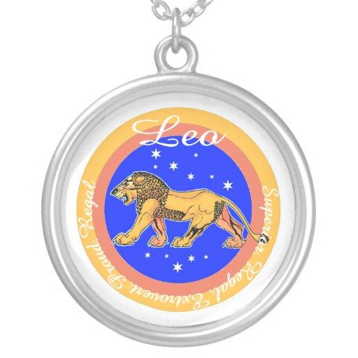 Collar de la astrología de Leo