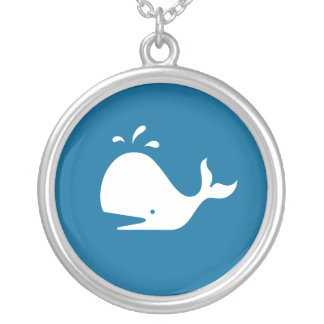 Collar de la ballena azul