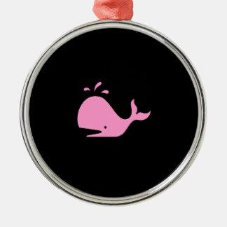 Collar de la ballena de Glow_Pink-on-Black del océ Adorno Para Reyes