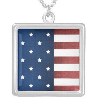 Collar de la bandera americana