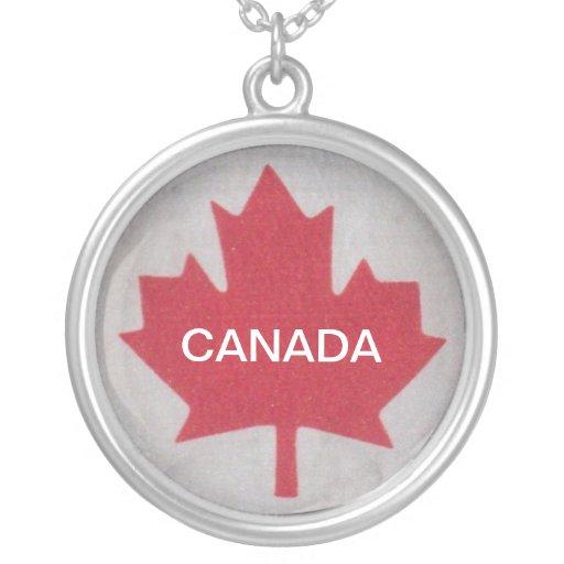 Collar de la bandera de Canadá