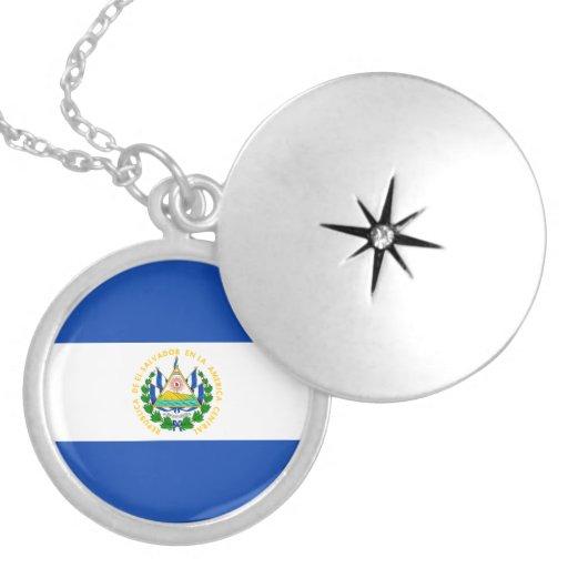 Collar de la bandera de El Salvador