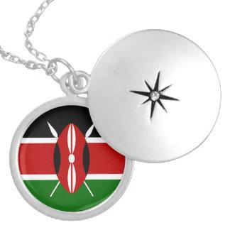 Collar de la bandera de Kenia