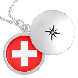 Collar de la bandera de Suiza