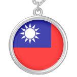 Collar de la bandera de Taiwán