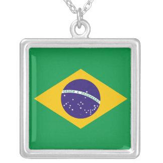 Collar de la bandera del Brasil