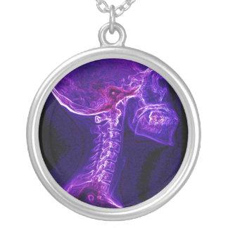 Collar de la C-espina dorsal de la púrpura/de Fush