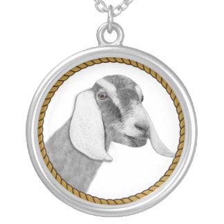 Collar de la cabra de Nubian