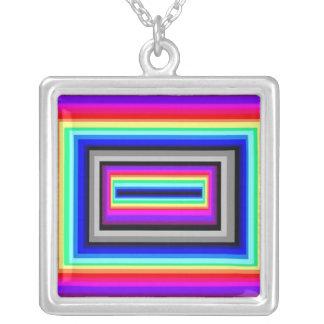Collar de la caja del arco iris