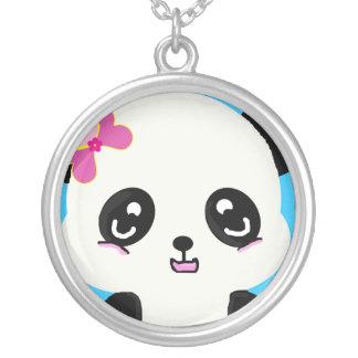 Collar de la cara de la panda de Kawaii