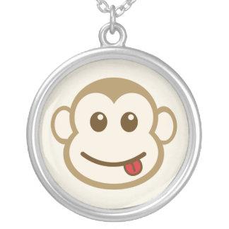 Collar de la cara del mono