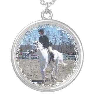Collar de la demostración del caballo