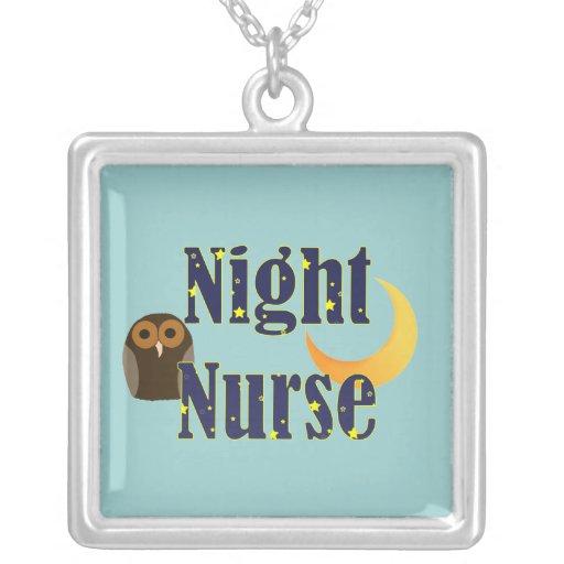 Collar de la enfermera de noche
