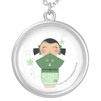 Collar de la estrella de Kokeshi