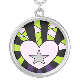 Collar de la estrella del corazón N (Limeade)