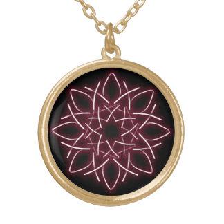 collar de la flor de la estrella del knotwork del