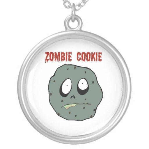 Collar de la galleta del zombi