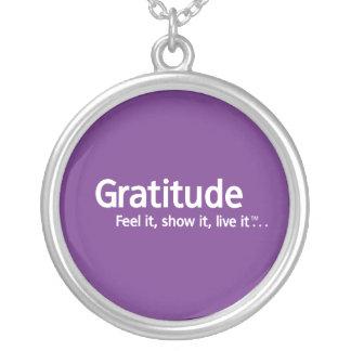 Collar de la gratitud