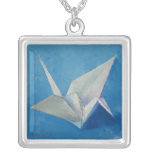 Collar de la grúa de Origami