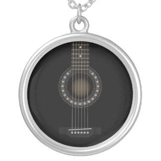 Collar de la guitarra acústica